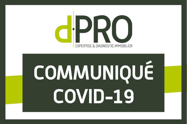 d.PRO - communiqué COVID-19