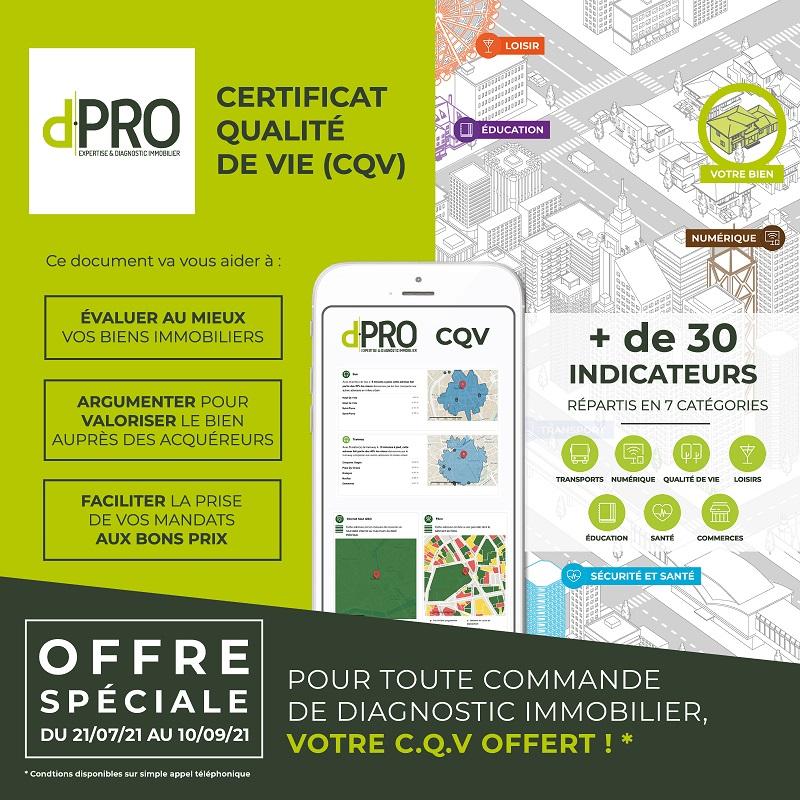 d.PRO - Certificat de Qualité de Vie (CQV)